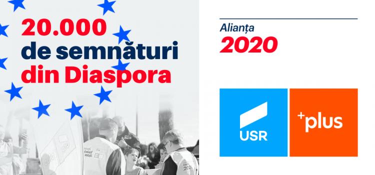 20.000 de semnături din Diaspora