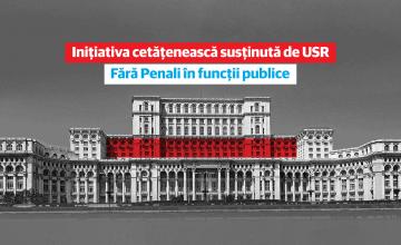 Inițiativa Cetățenească #FaraPenali În Funcții Publice