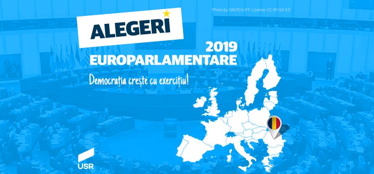 USR Diaspora are reprezentanți în cursa internă pentru alegerile europarlamentare