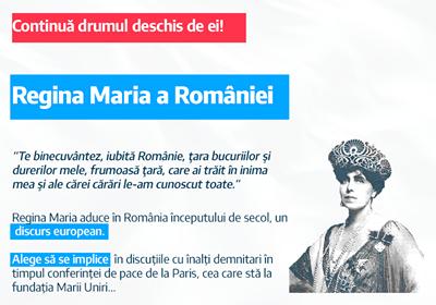Oamenii unirii: Regina Maria