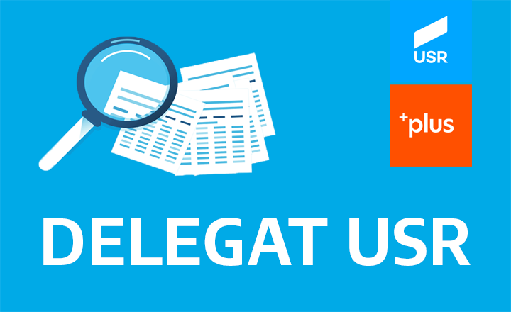 Delegați Europarlamentare - Alianta 2020 USR PLUS