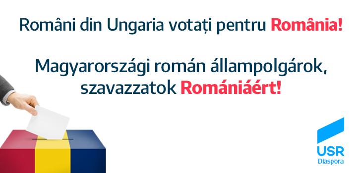 Români din Ungaria, votați pentru România!