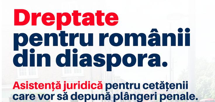 Alianța 2020 USR PLUS oferă asistență juridică românilor din diaspora