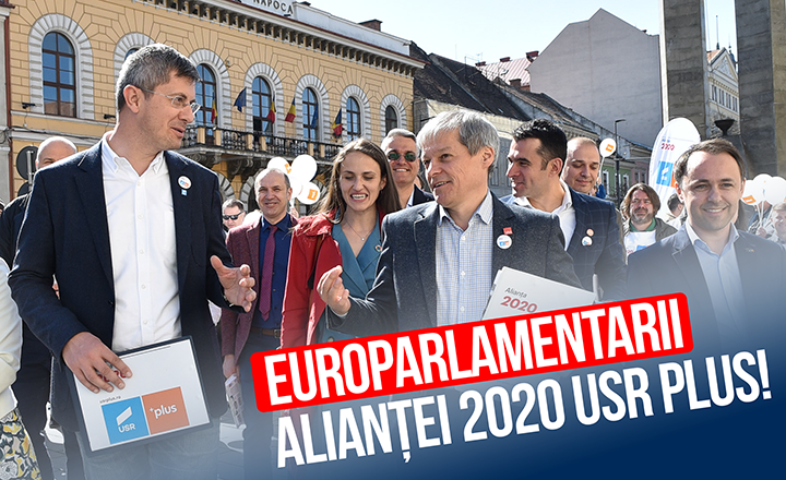 Lista europarlamentarilor Alianței 2020 USR PLUS