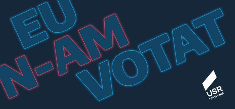 Eu n-am votat