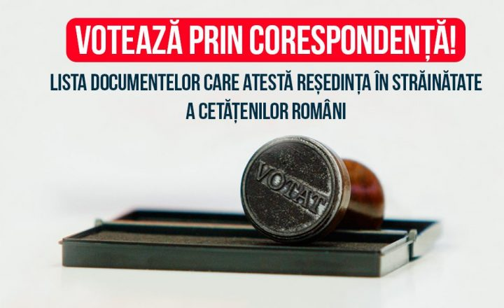 Verifică documentele care atestă reședința în străinătate a cetățenilor români