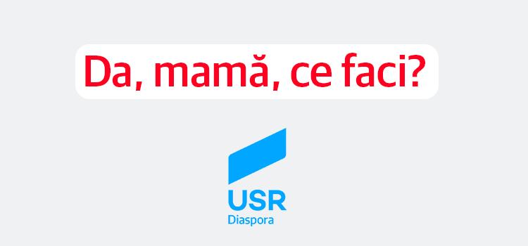 Da, mamă, ce faci?