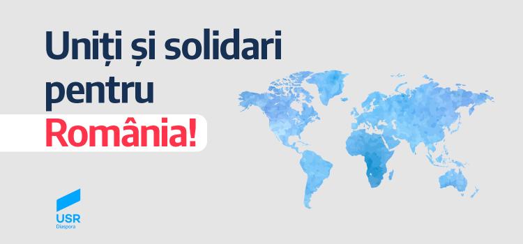 Membrii USR Diaspora se implică activ în Criza Covid-19