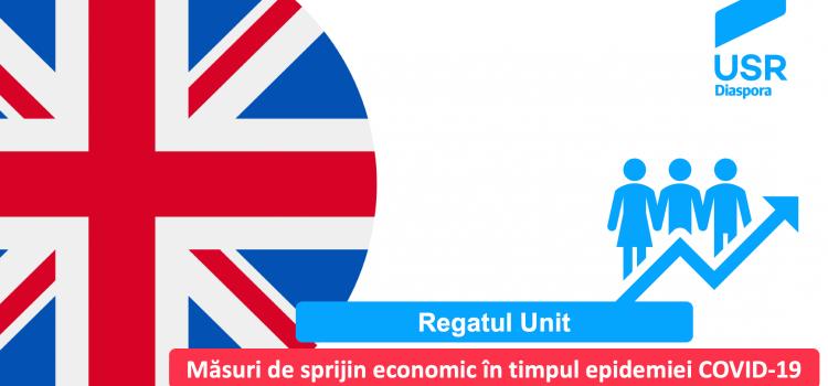 Regatul Unit: măsuri de sprijin economic pentru IMM-uri și salariați