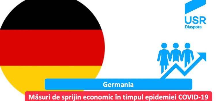 Germania: măsuri de sprijin economic pentru IMM-uri și salariați