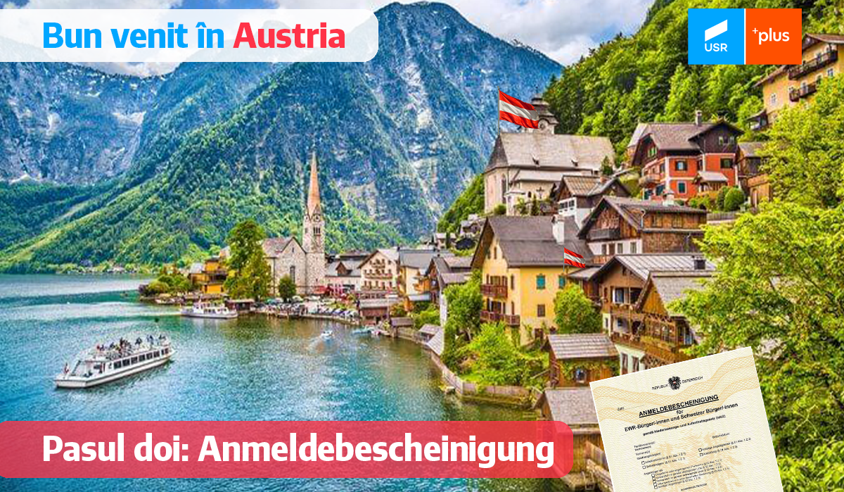 Obținerea certificatului de înregistrare în Austria – Anmeldebescheinig