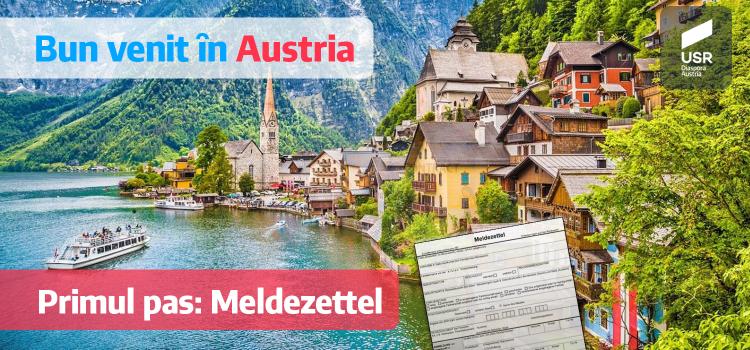 Înregistrarea reședinței principale în Austria