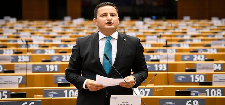 Eurodeputatul Nicu Ștefănuță a fost ales coordonatorul Renew Europe în Comisia Specială de luptă împotriva cancerului