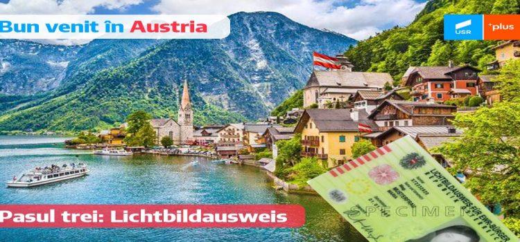 Lichtbildausweis für EWR Bürger –  documentul de identitate cu poză pentru cetățenii UE care au o perioada de ședere mai mică de 5 ani în Austria