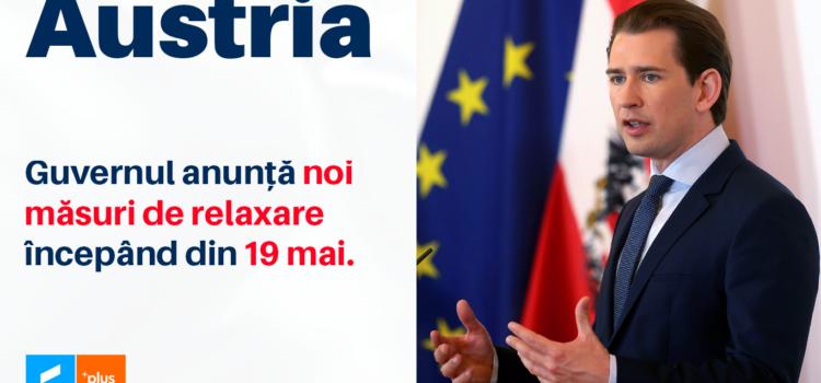 Protejat: Austria – Noile măsuri de deschidere începând cu 19 Mai 2021